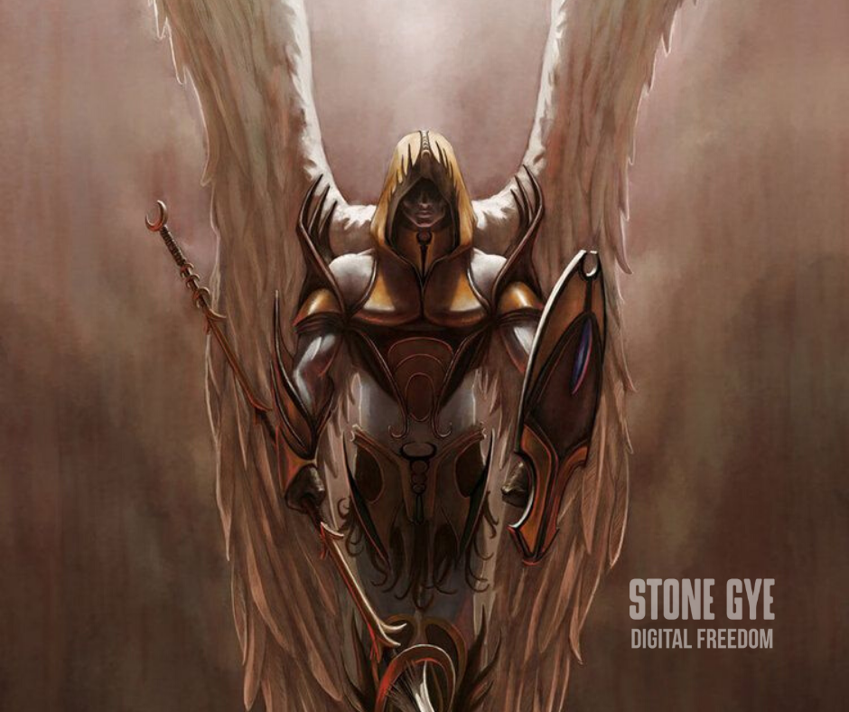 Angel Warrior - StoneGye.com
